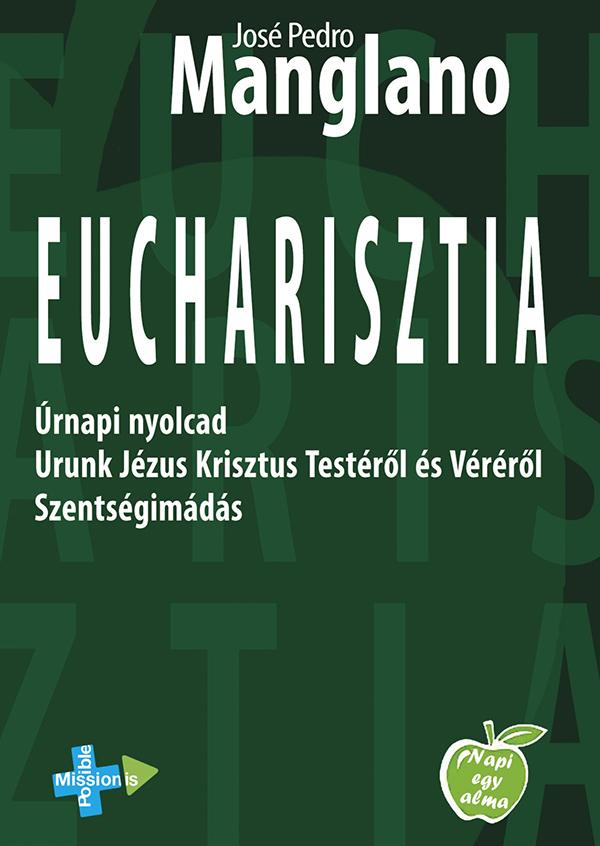 Eucharisztia zöld könyvborító